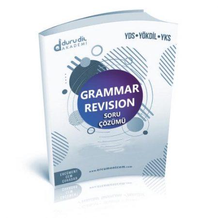 Grammar Revision 2 Soru Çözümü